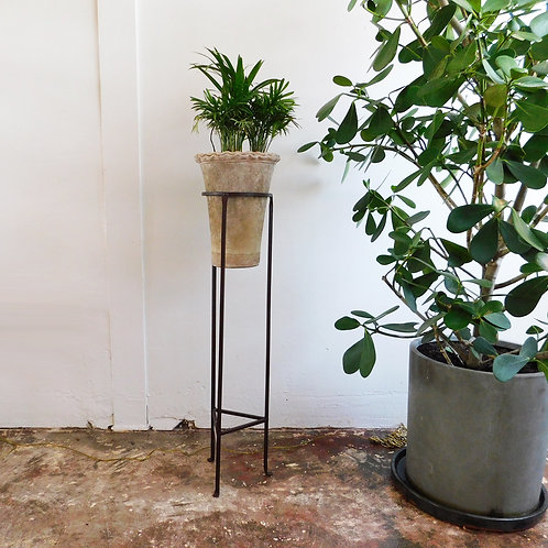 Tall Iron Plant Stand