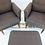 Thumbnail: Mid-Century Armchairs with Ottoman