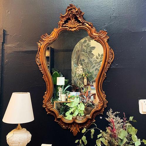 Baroque Framed Mirror