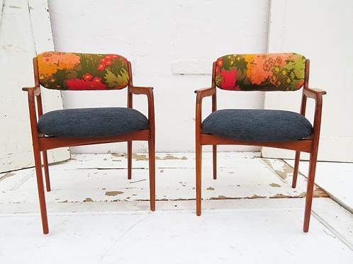 Mid-Century Style Chair Set