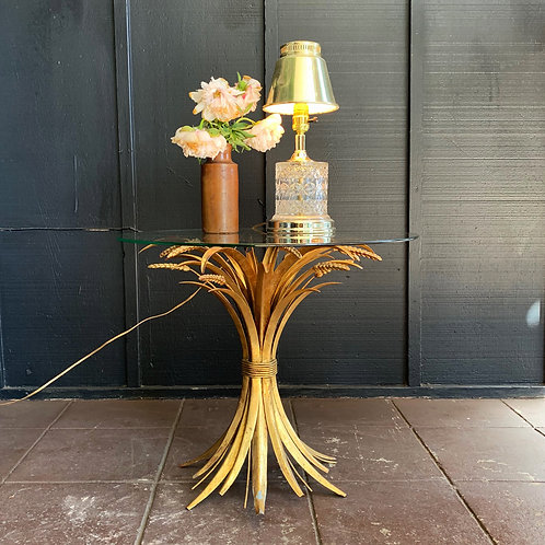 Gilded Gold Wheat Table