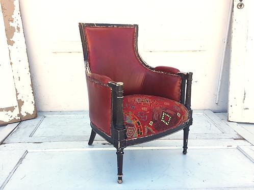 Republique Leather Arm Chair