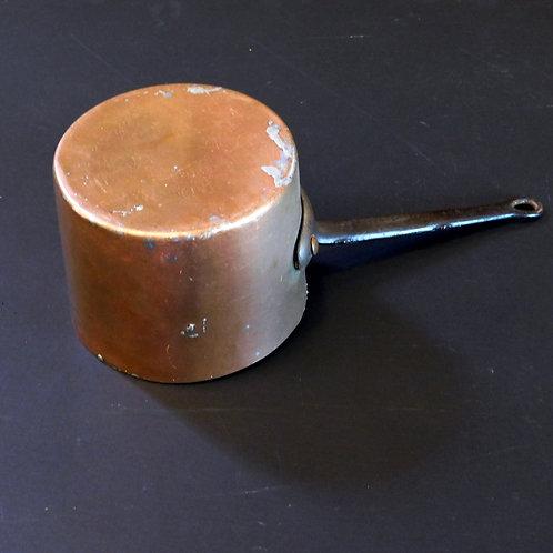 Antique Copper Sauce Pot