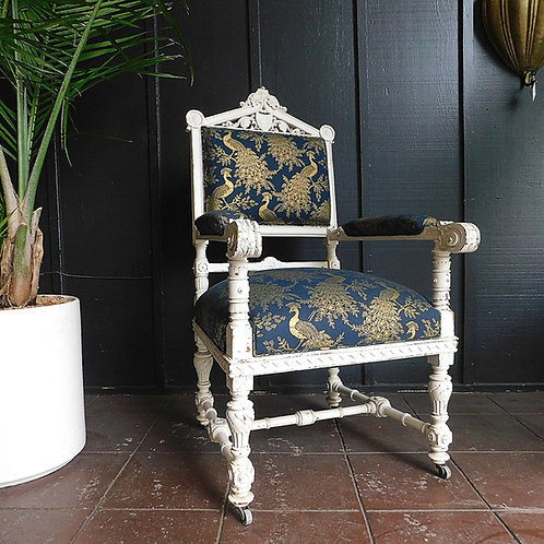 Victorian Peacock Chair