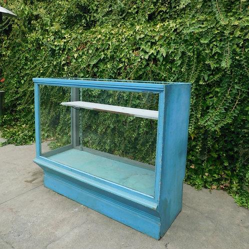 Botanical Blue Vintage Display Case