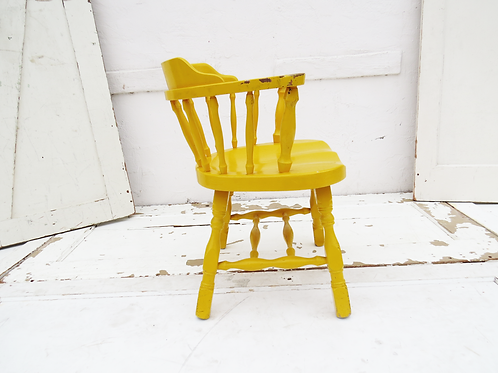 Yellow Captains Chair