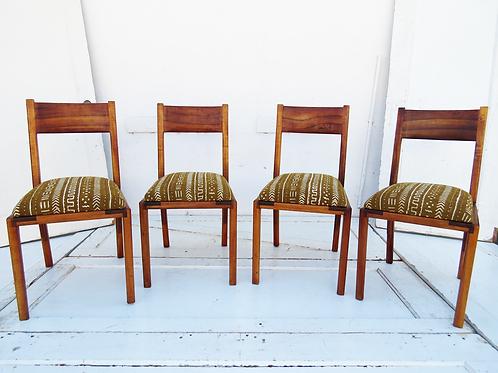 Teak Dining Chair Set