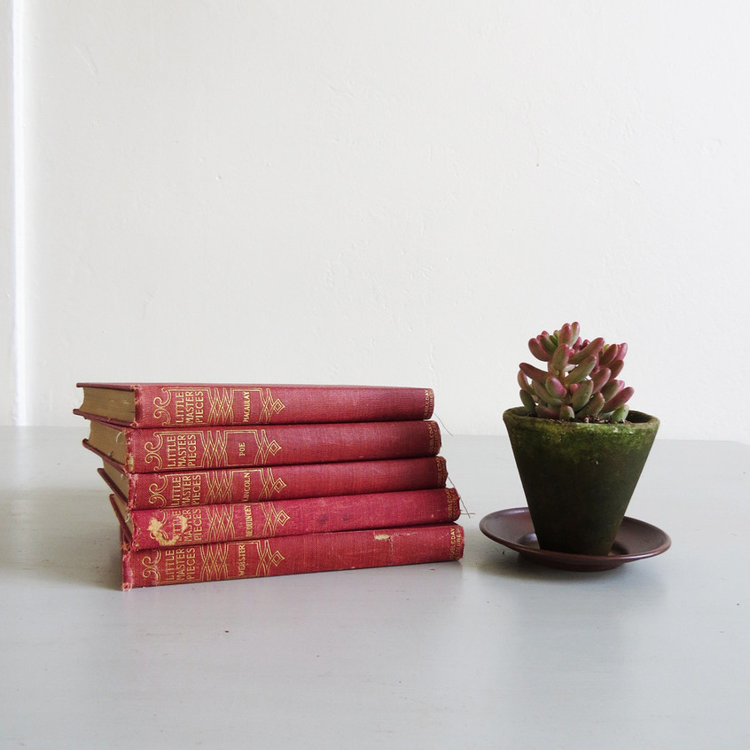 small-red-books