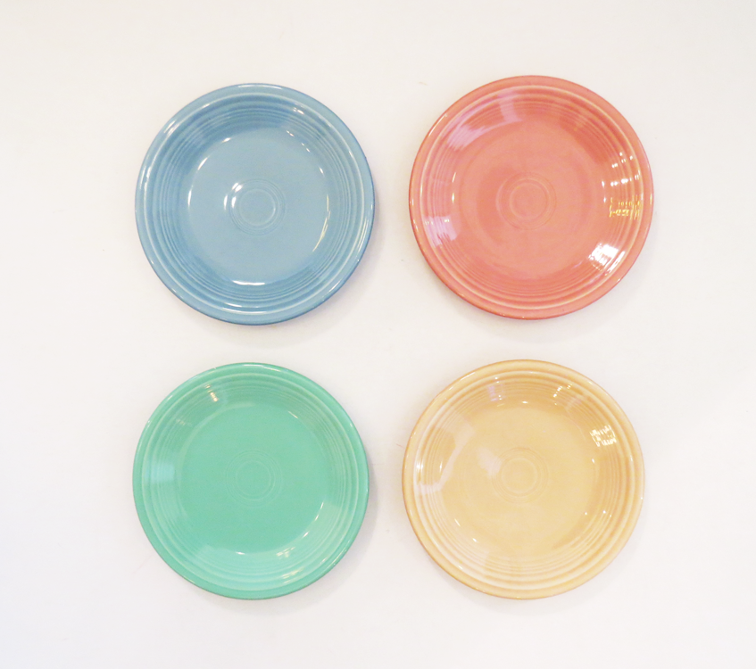 Fiestaware Large Plate Set