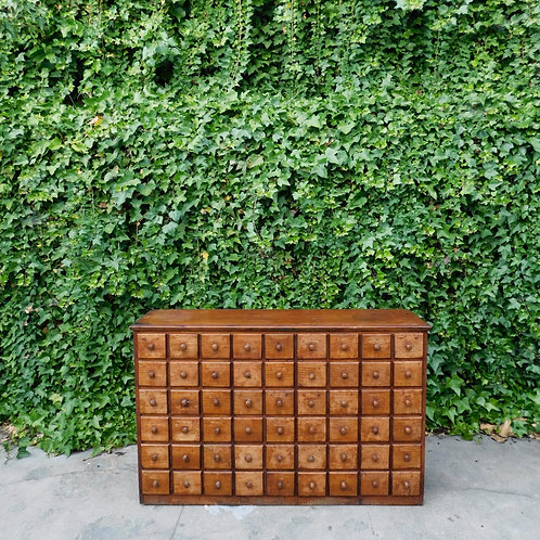 Rustic Apothecary Chest