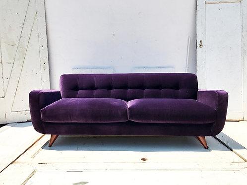 Purple Velvet Couch