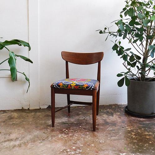 Mid-Century Suzani Solo Chair