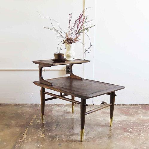 Lane Walnut Side Table