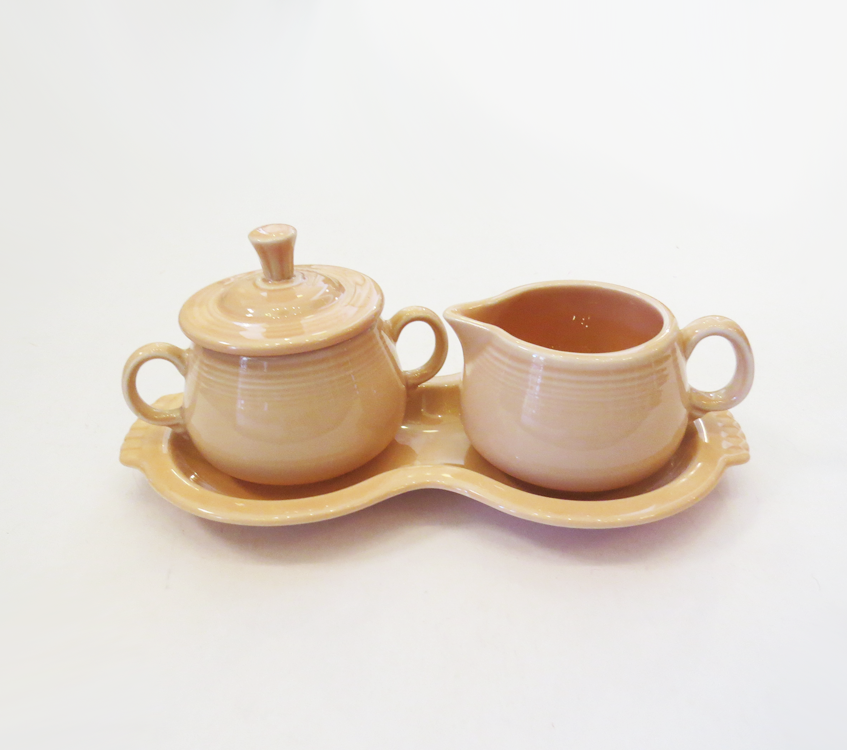 Vintage Fiestaware Sugar and Creamer