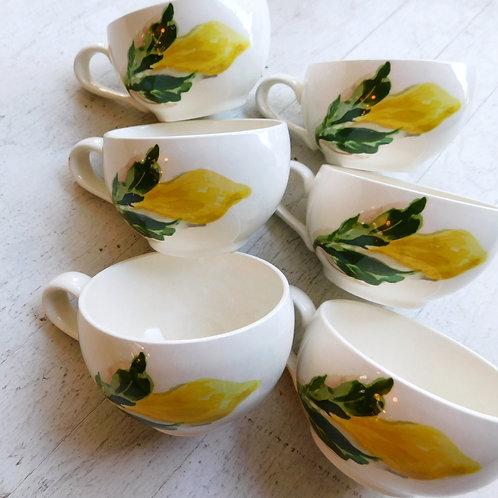 Lemon Tea Cup (set of 6)