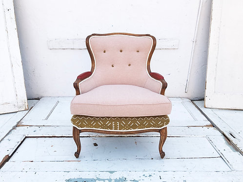 Mixed Mudcloth Chair