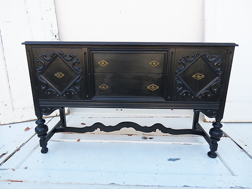 Midnight Antique Sideboard