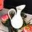 Thumbnail: Gold Edged Cream Pitcher / Vase