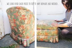 Berkeley Upholstery process