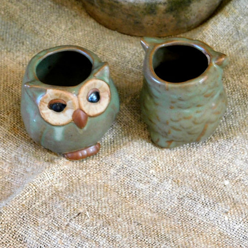 Sweet Ceramic Owls (sold individually)