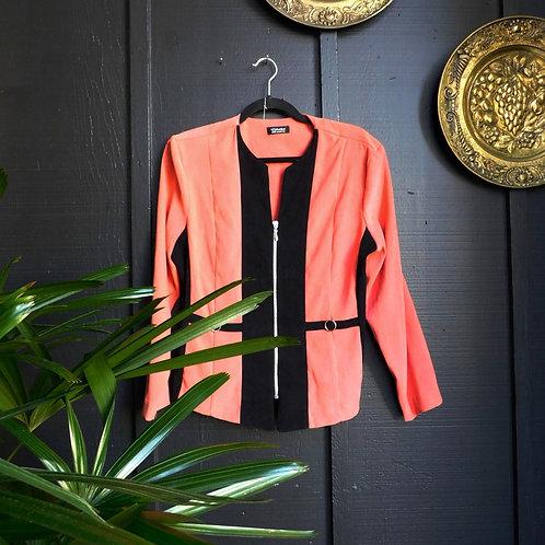 Tropicale Flamingo Zip Coat
