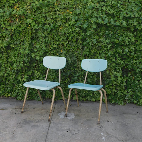 Retro School House Chairs (Sold Individually)