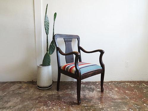 Saltillo Serape Antique Chair
