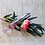 Thumbnail: Fluted Pink Glass Bud Vase