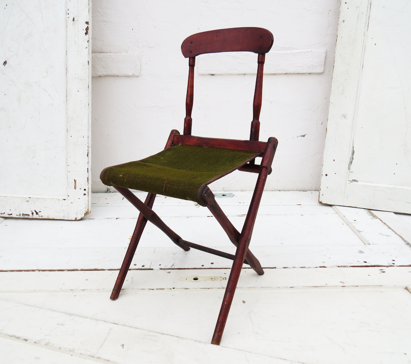 Antique Folding Chair