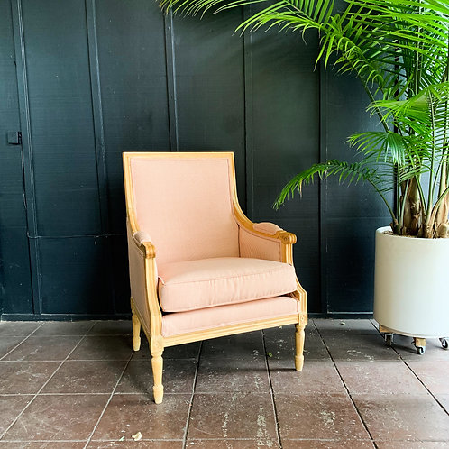 Marseille French Striped Armchair