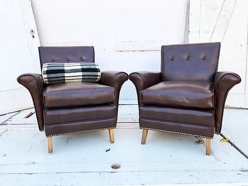 Scout Leather Armchair (price per chair)