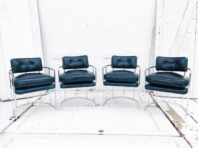 Before & After: Sleek Vintage-Modern Chairs