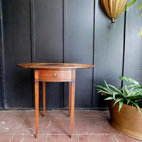 Soulful Antique Side Table