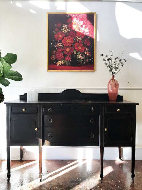 'Viola' Black Sideboard