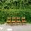 Thumbnail: Vintage Arthur Umanoff Style Farmhouse Chairs (set of 4)