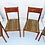 Thumbnail: Teak Dining Chair Set