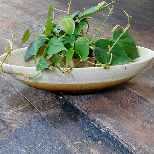 Oval Ceramic Glazed Bowl