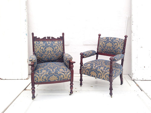 Long Antique Chairs