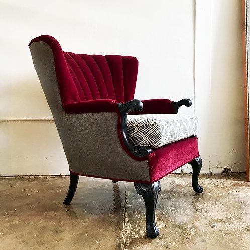 Bordeaux Wingback Chair