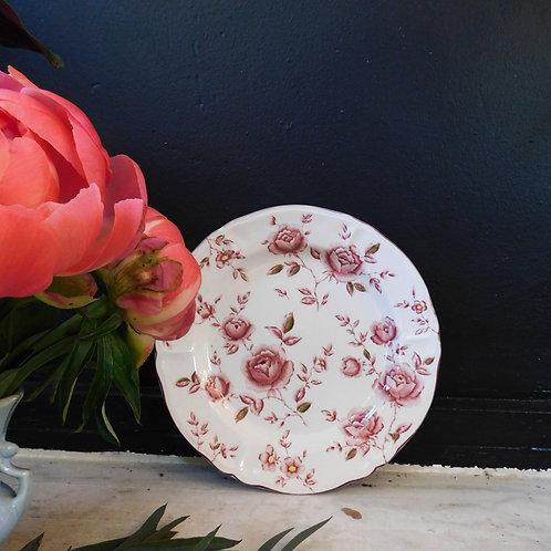 Rose Flora Dinner Plates (set of 4)