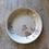 Thumbnail: Vintage Ceramic Floral Serving Bowl