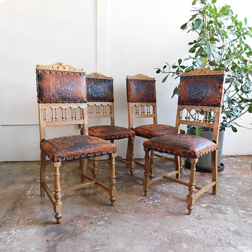 Distressed Mission Chairs Set of 4