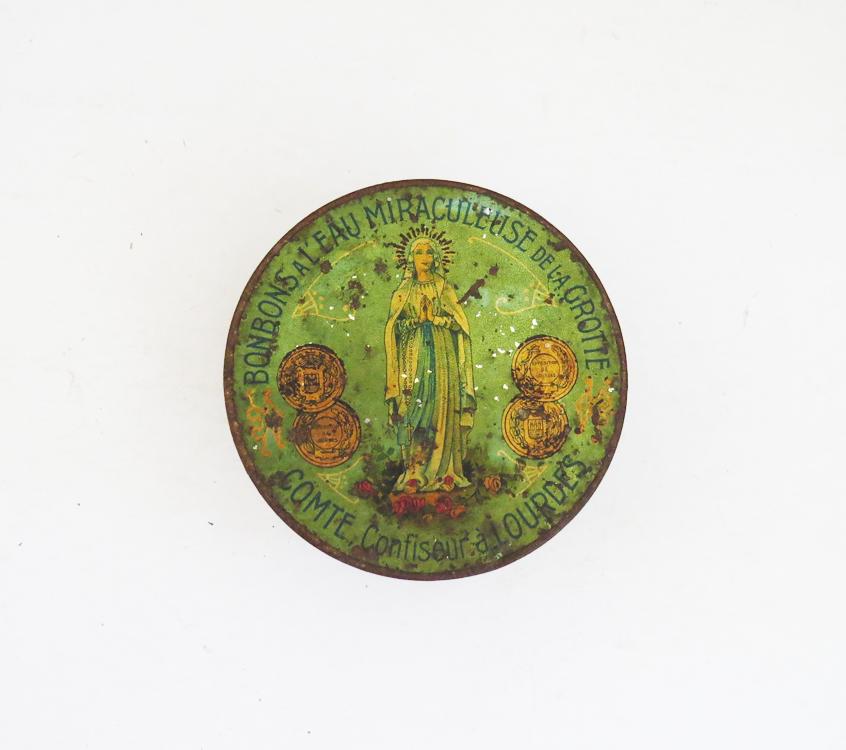 Green Nouveau Tin