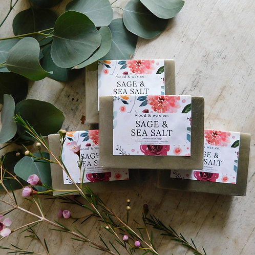 Sage & Sea Salt Coconut Milk Soap