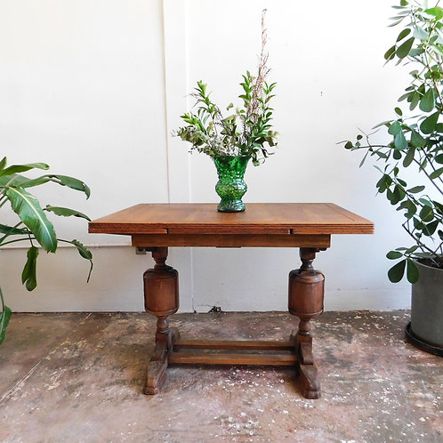 Rustic Craftsman Extendable Dining Table