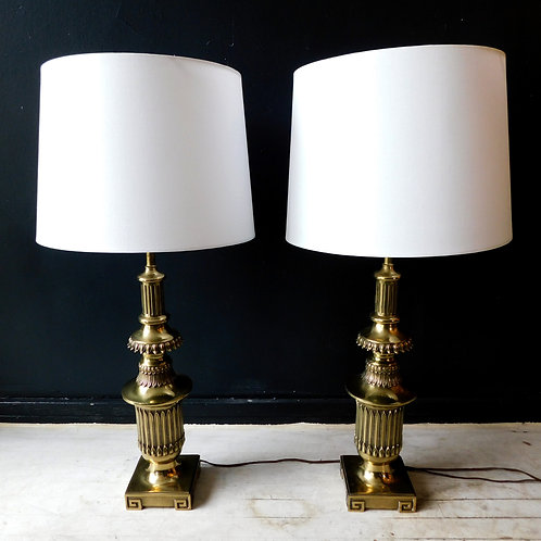 Brass Grecian Lamps (sold individually)