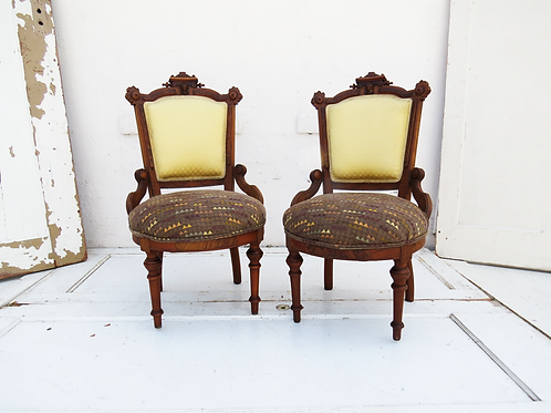 Antique Madame Chairs