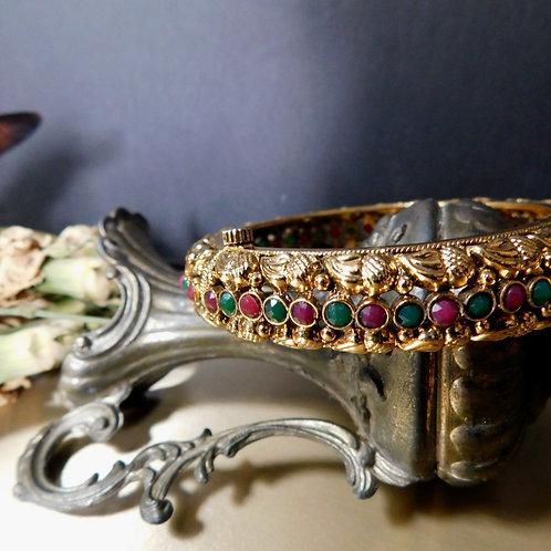 Filigree Gold & Jewel Tone