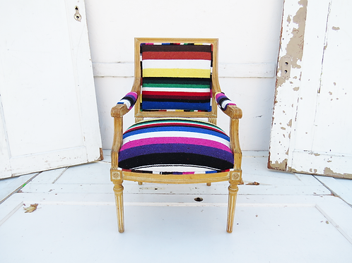 Mexican Zarape Chair