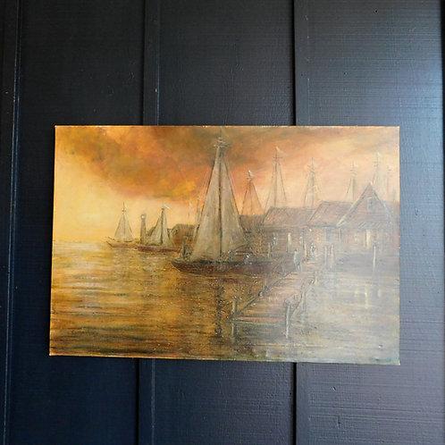 Harbor View signed Stanley Raubertas